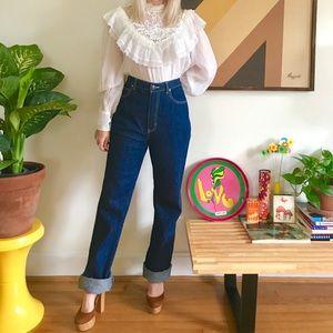 """Vintage 1970s dark wash Sasson jeans 30/31"""""""